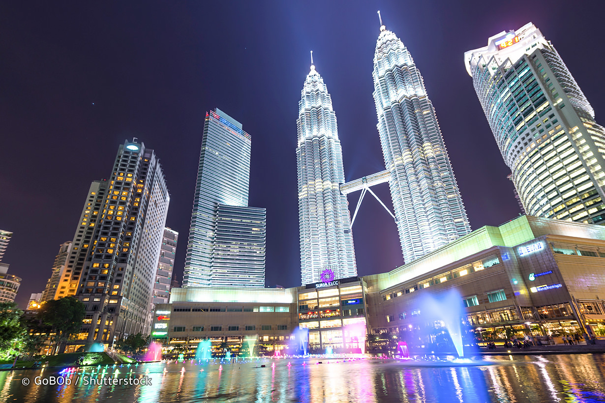 Petronas Twin Tower – 2.3km